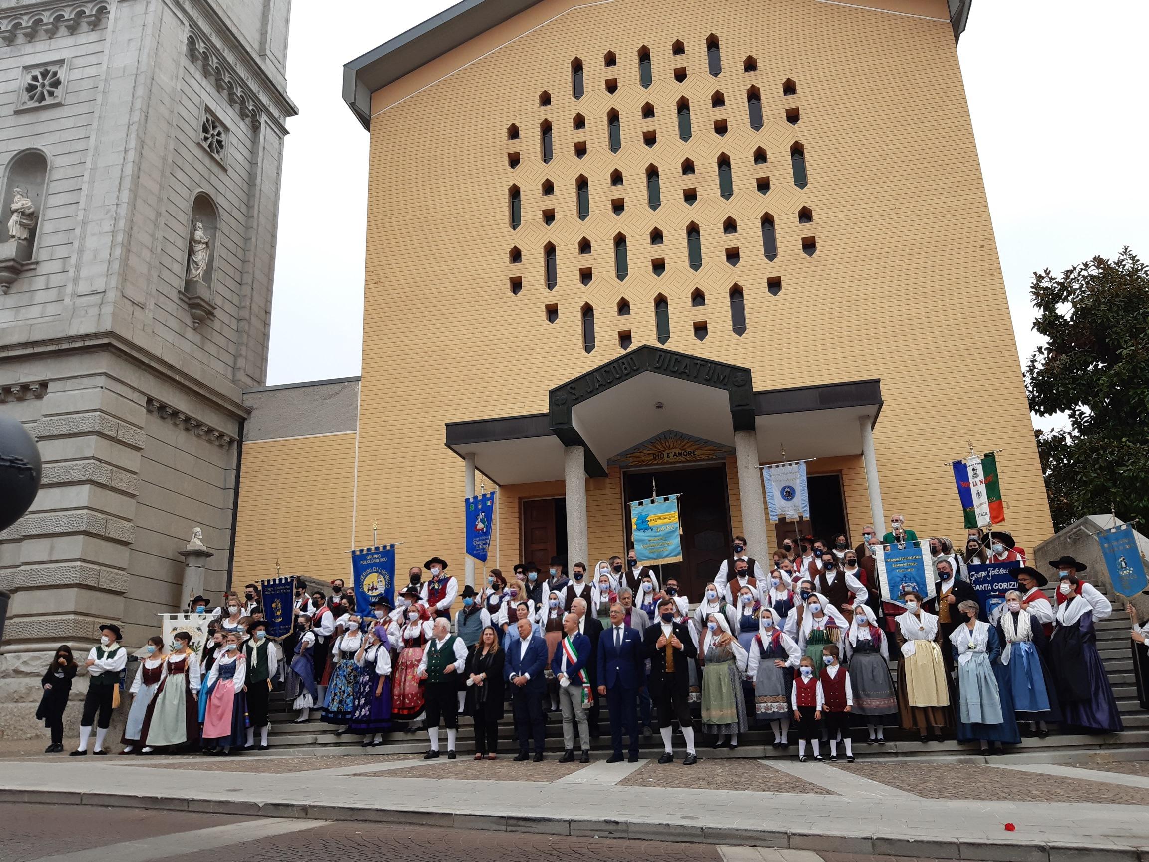 Folclore: presidenza Cr, siete le nostre radici friulane e cristiane